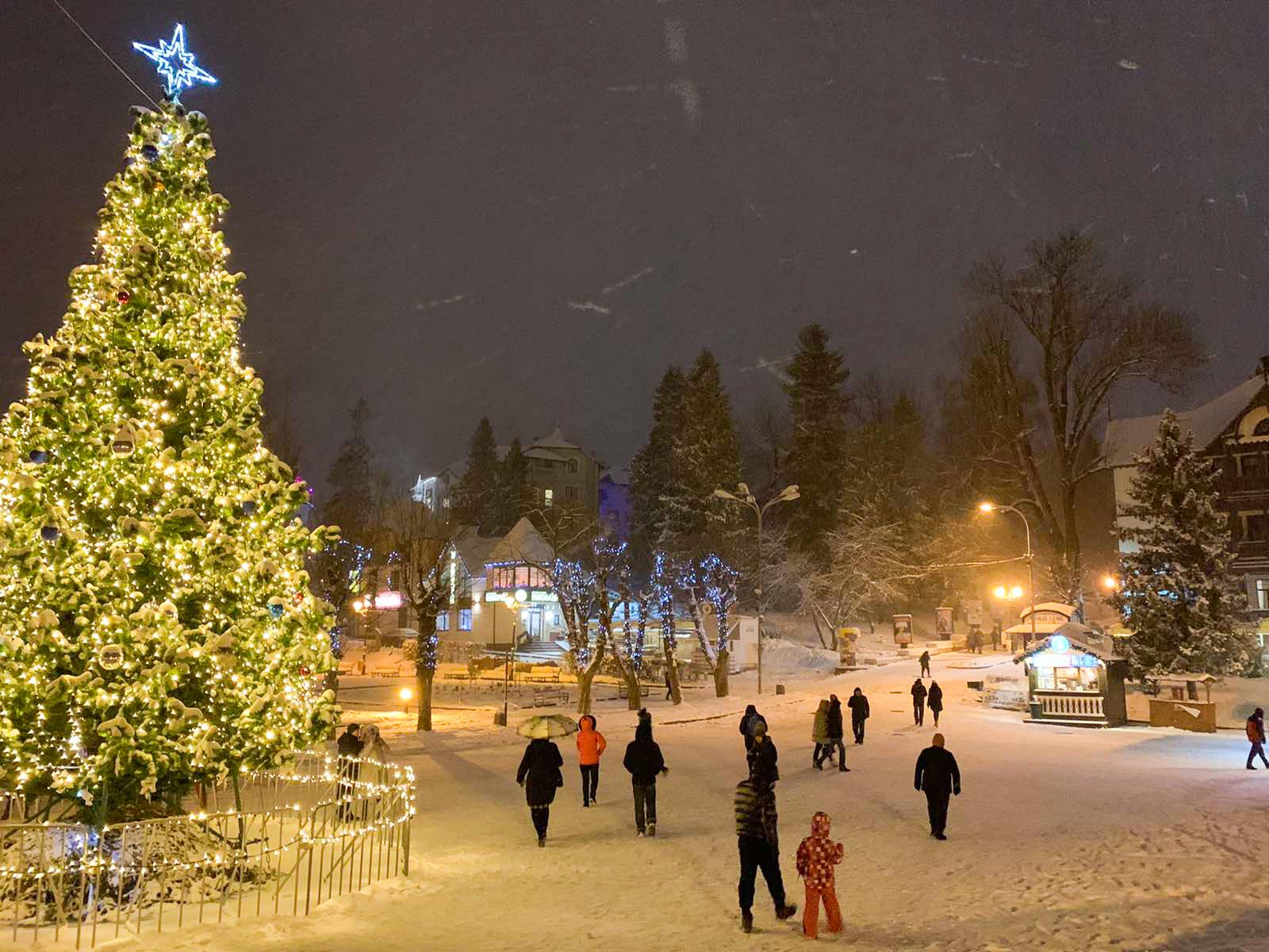 Різдво у Трускавці